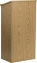Stand-Up Wood Lectern in Oak [MT-M8830-LECT-OAK-GG]