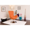Egg Series Orange Fabric Side Reception Chair [CH-162430-OR-FAB-GG]
