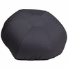 Oversized Solid Gray Bean Bag Chair [DG-BEAN-LARGE-SOLID-GY-GG]