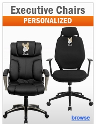 Personalized Executive Office Chairs