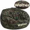Personalized Oversized Camouflage Kids Bean Bag Chair [DG-BEAN-LARGE-CAMO-EMB-GG]