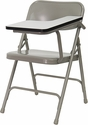 Premium Steel Folding Chair with Left Handed Tablet Arm [HF-309AST-LFT-GG]