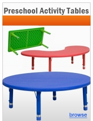 Preschool Activity Tables