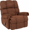 Riverstone Sierra Chocolate Microfiber Rocker Recliner [RS-100-01-GG]