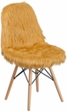 Shaggy Dog Beige Accent Chair [DL-17-GG]