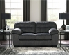 Signature Design by Ashley Accrington Loveseat in Granite Microfiber [FSD-1339LS-GRT-GG]