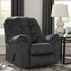 Signature Design by Ashley Accrington Rocker Recliner in Granite Microfiber [FSD-1339REC-GRT-GG]