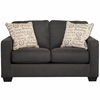 Signature Design by Ashley Alenya Loveseat in Charcoal Microfiber [FSD-1669LS-CH-GG]