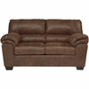 Signature Design by Ashley Bladen Loveseat in Coffee Faux Leather [FSD-1209LS-COF-GG]
