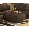 Signature Design by Ashley Cowan Oversized Ottoman in Cafe Fabric [FSD-8059OTT-CAF-GG]