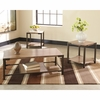 Signature Design by Ashley Dexifield 3 Piece Occasional Table Set [FSD-TS3-69B-GG]