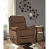 Signature Design by Ashley Earles Rocker Recliner in Chestnut Fabric [FSD-6059REC-CHE-GG]