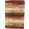 Exceptional Designs by Flash Emerge 5'3'' x 7'6'' Rug [FSD-RUG-51RDTNBG-GG]