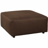 Signature Design by Ashley Jayceon Oversized Accent Ottoman in Java Fabric [FSD-6499OTT-JAV-GG]