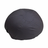 Small Solid Gray Kids Bean Bag Chair [DG-BEAN-SMALL-SOLID-GY-GG]