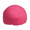Small Solid Hot Pink Kids Bean Bag Chair [DG-BEAN-SMALL-SOLID-HTPK-GG]