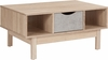 St. Regis Collection Coffee Table in Oak Wood Grain Finish with Gray Drawer [EV-CT-2190-02-G-GG]