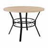 "Tremont 42"" Round Dining Table in Bleached Sandstone-Like Finish [HS-D03003TR-M005-42-GG]"