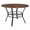 "Tremont 45"" Round Dining Table in Coffee Wood Finish [HS-D03003TR-F6-45-GG]"