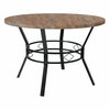 "Tremont 45"" Round Dining Table in Distressed Driftwood Finish [HS-D03003TR-5001-02-45-GG]"
