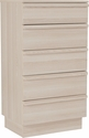 Valencia Collection Chest of Drawers in Cambria Ash Finish [EV-DC-9855-01-GG]