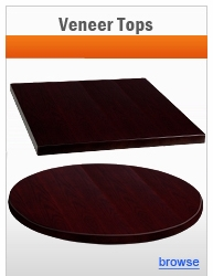 Veneer Table Tops