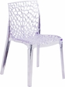 Vision Series Transparent Stacking Side Chair [FH-161-APC-GG]
