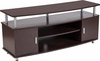Wheaton Espresso Wood Finish TV Stand [NAN-JH-1706-GG]
