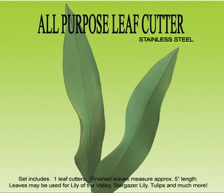 ALL PURPOSE LEAF CUTTER SET NOW IN STAINLESS STEEL