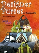 DESIGNER PURSES IN GUMPASTE