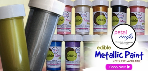 EDIBLE METALLIC PAINT