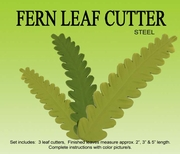 FERN LEAVES GUMPASTE CUTTER SET