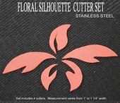 FLORAL SILHOUETTE CUTTER SET