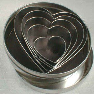 HEART METAL CUTTER SET