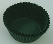 HUNTER GREEN MINI CUPCAKE LINER