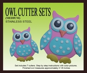 OWL CUTTER SET (MEDIUM)