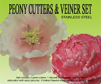 PEONY CUTTER NOW WITH 4 CUTTERS!