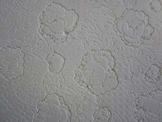 ROSE LACE TEXTURE MAT