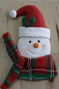 SNOWMAN WITH SCARF MOLD