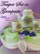 TEAPOT SET IN GUMPASTE