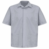 1S00NV Pincord Short Sleeve Navy Shirt Jacket