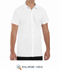 5050WH White Long Cook Shirt