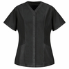 9P01BK Women's Black Easy Wear Tunic