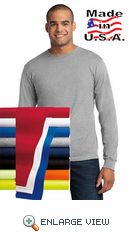 All-American Long Sleeve Tee. USA100LS