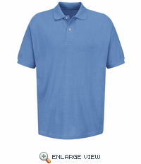 Men's Basic 100% Cotton Pique Polo - 7701 (8 Colors)