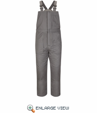 BLC8GY EXCEL- FR™ COMFORTOUCH™ Deluxe Grey Insulated Bib Overall
