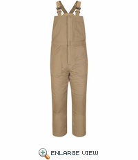BLC8KH EXCEL- FR™ COMFORTOUCH™ Deluxe Khaki Insulated Bib Overall