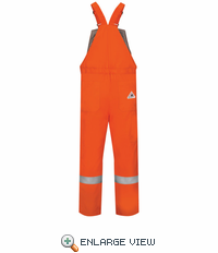 BLCS Deluxe Insulated Bib Overall with Reflective Trim - EXCEL FR® ComforTouch®