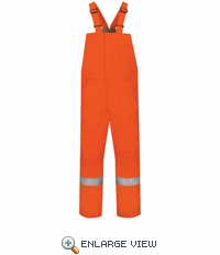 BLCSOR Deluxe Insulated Bib Overall with Reflective Trim - EXCEL FR® ComforTouch®