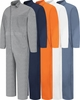 CC14 Cotton Coveralls, Snap Front